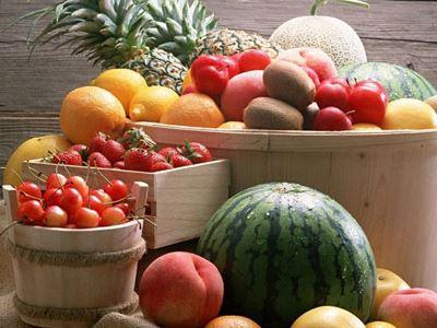 秋天美味水果 吃出好身材