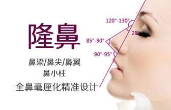 鼻小柱延长方法