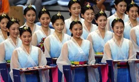 宿州天使整形仁川亚运会礼仪小姐存天然 未经整容的美人