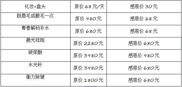 咸宁韩美整形医院 双11 抢购惠