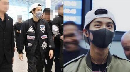 呼和浩特五洲整形吴克群现身机场疑似整容 称他只是贴了双眼皮贴
