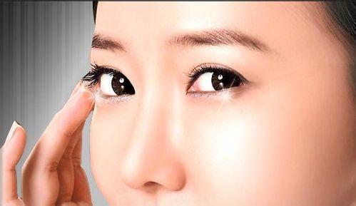 开外眼角对比图 小眼变大眼魅力增值