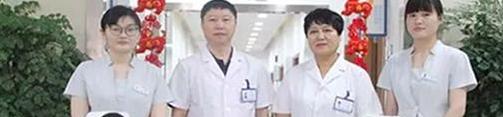 以植发科室带头人李延兵和李公昌组成的无锡虹桥医院毛发移植中心医护团队