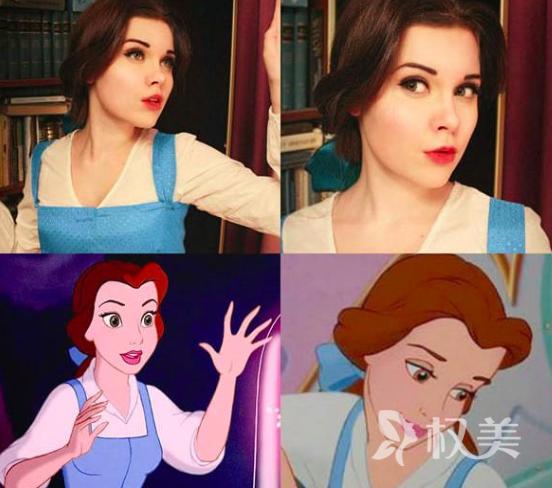 俄罗斯女孩Ilona Bugaeva整容了吗 化妆术堪比整形