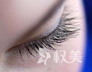 种睫毛的图片 哈尔滨美佳娜植发医院种睫毛是不是很贵