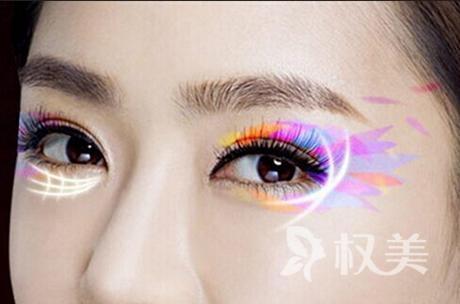 缤纷美瞳眼双眼皮手术 让您的眼睛更深邃更精细自戴美瞳效果