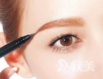 广水第一人民医院整形科纹眉毛 让眉型更自然
