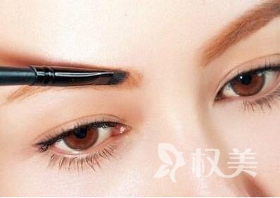 明星眉毛排名 眉毛種植效果自然嗎