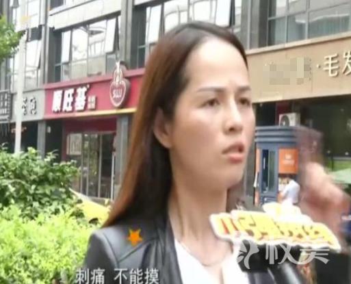 杭州的陈女士隆鼻子后疼痛难忍 鼻梁可以透出光线来