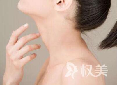 去除脖子上皺紋的方法 中山華美整形醫院激光去頸紋效果