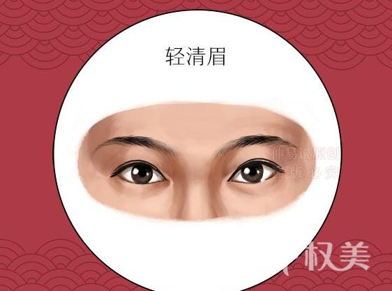 种植眉毛改变你的情感运 四种眉形女人命最好