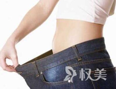 減肥前后對比照片 在杭州做腹部吸脂多少錢
