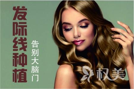 【毛发移植】发际线种植/FUE传统无痕植发技术 价格表